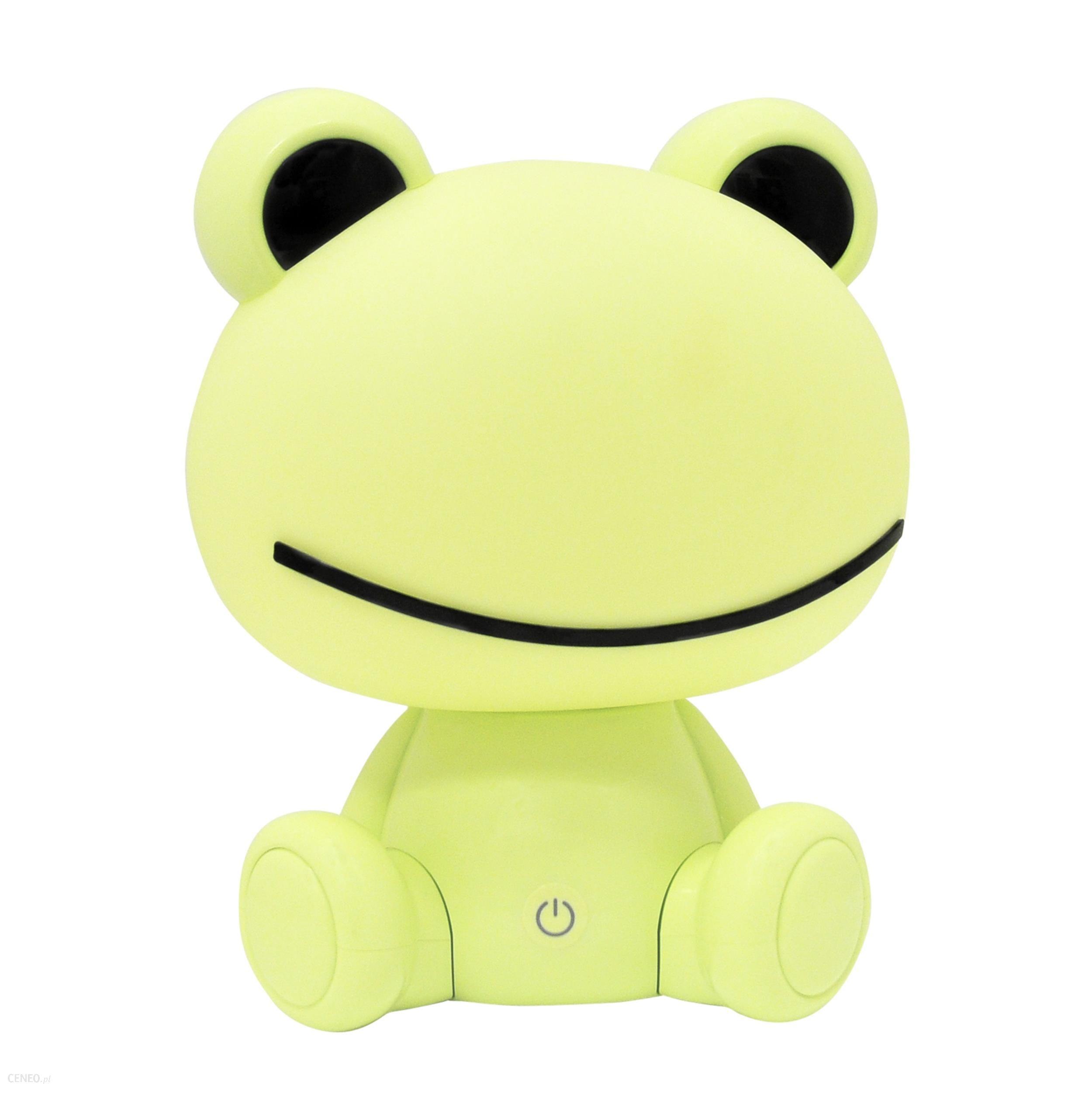 Dětská stolní lampička 307682 Žába zelená  (Sanico)