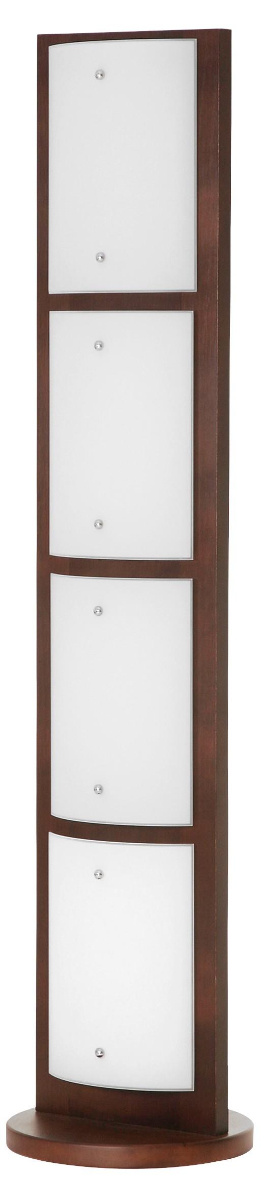 Moderní stojanová lampa 2456 Quadro Wenge