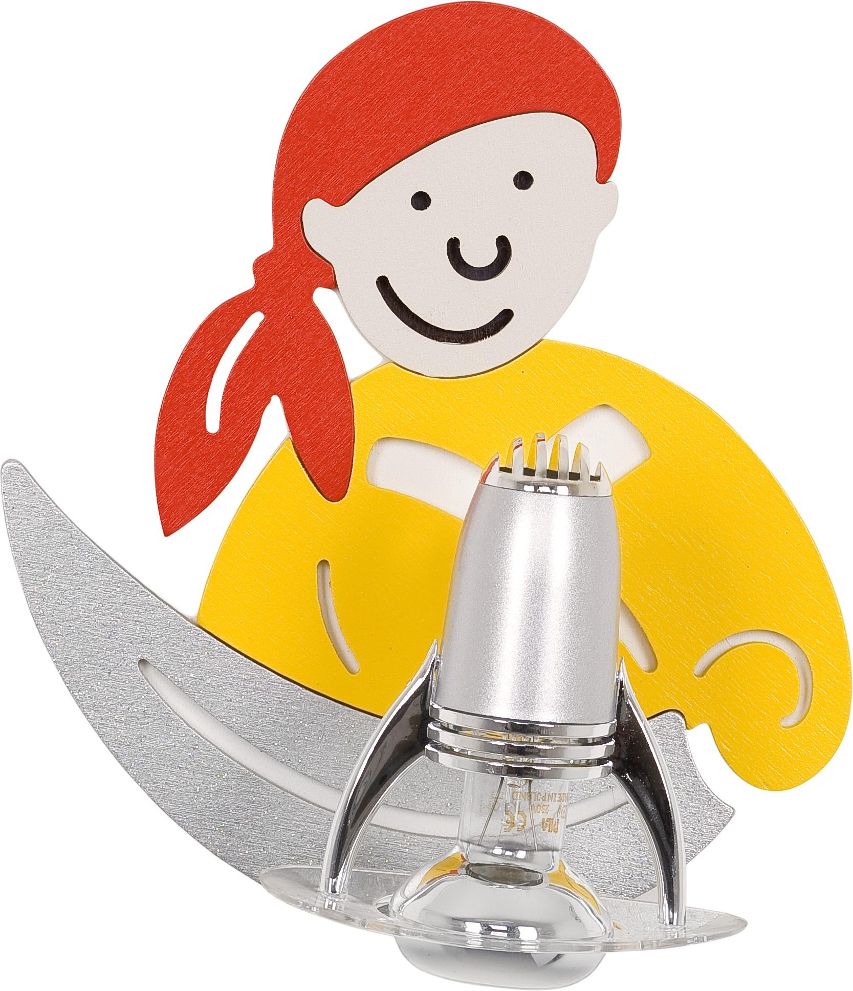 Nowodvorski Dětské bodové svítidlo 4717 Pirate