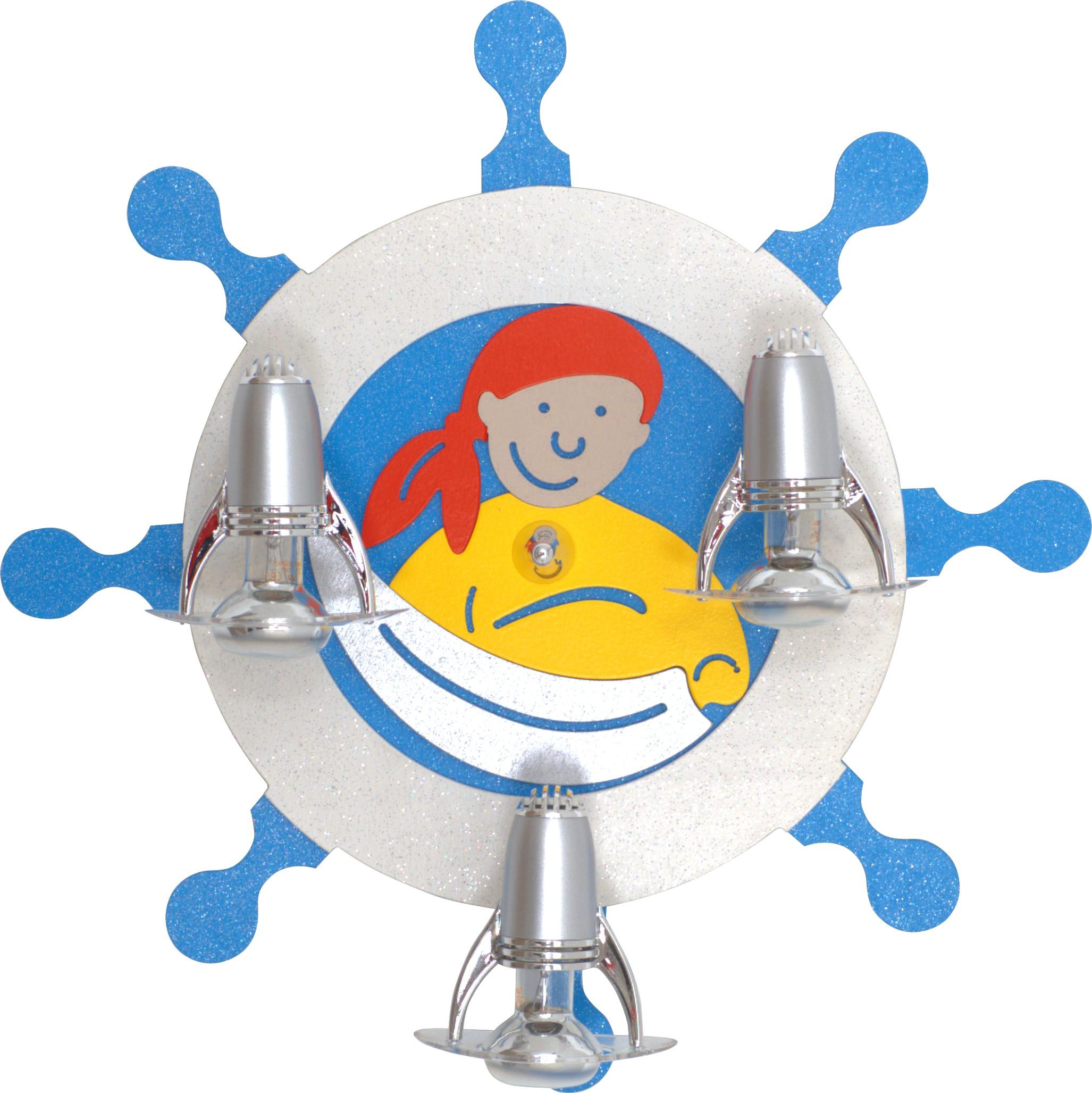 Nowodvorski Dětské bodové svítidlo 4834 Pirate