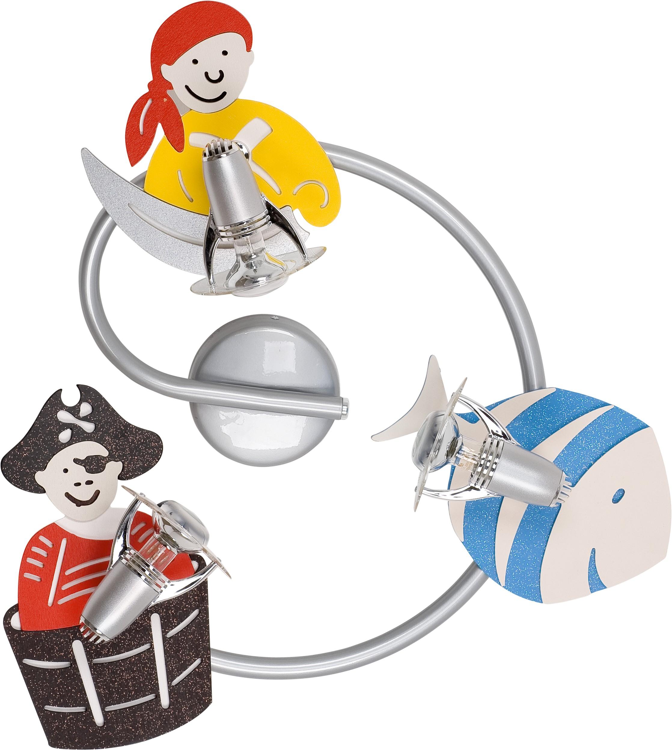 Nowodvorski Dětské bodové svítidlo 4723 Pirate