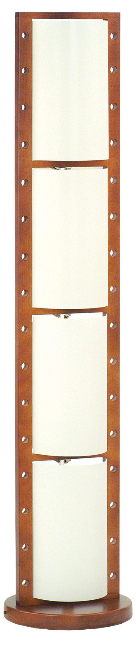 Moderní stojanová lampa 619 Geo Ecru