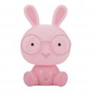 Dětská stolní lampička 307699 králík růžový (Sanico)