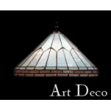 Art deco (3 lustry) Alko Tiffany